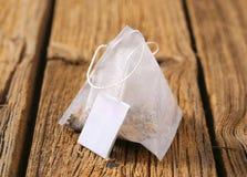 Pyramid tea bag Stock Photos