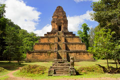 Pyramid Temple in Cambodia Stock Photos