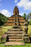 Pyramid Temple in Cambodia Royalty Free Stock Images