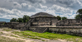 Pyramid of Teotihuacan Royalty Free Stock Photo