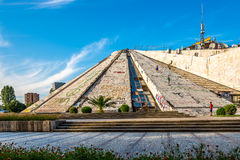 Pyramid of Tirana - International Center of Culture Royalty Free Stock Images