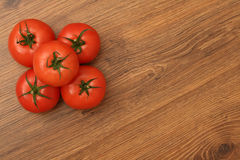 Pyramid of tomatoes Royalty Free Stock Photography