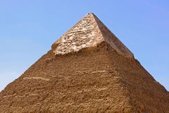 Pyramid top Stock Images