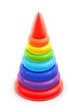 Pyramid toy Stock Images