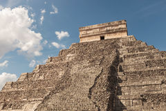 Pyramid in Tulum, Mexico. Royalty Free Stock Photo