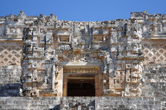 Pyramid at Uxmal Royalty Free Stock Image