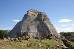 Pyramid at Uxmal Royalty Free Stock Photography