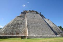 Pyramid at Uxmal Stock Photography