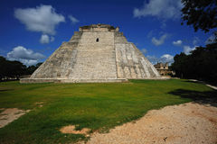 Pyramid Uxmal Royalty Free Stock Photo