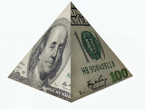Pyramid of your success in business Stock Photos