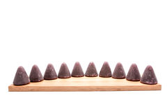 This pyramidal cuberdons Royalty Free Stock Photos
