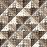 Pyramidal seamless pattern Stock Photo