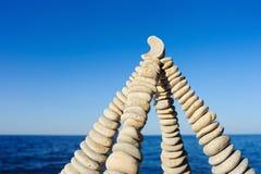Pyramidal shape Stock Image