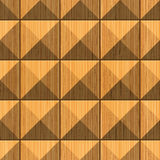 Pyramidal woodcarving Royalty Free Stock Photos