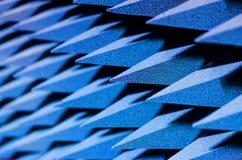Pyramidala absorbatorer - solid provkopiering arkivbilder