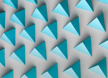 Pyramidbakgrund Royaltyfri Bild