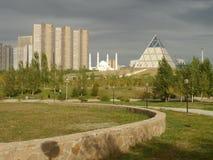 Pyramide à Astana Photographie stock libre de droits