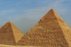 Pyramide égyptienne Photographie stock