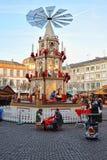 pyramide рынка Германии рождества традиционное Стоковое Изображение RF