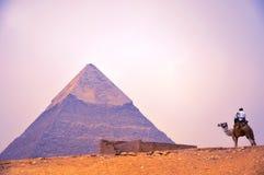 Pyramide Photos libres de droits