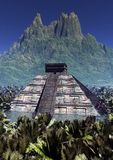 Pyramide. The very old inca pyramide Royalty Free Stock Photos