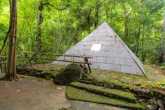 Pyramide Alongkorn Chedi Lizenzfreies Stockbild