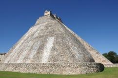 Pyramide bei Uxmal Stockfotos