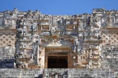 Pyramide bei Uxmal Lizenzfreies Stockbild