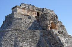 Pyramide bei Uxmal Stockbild