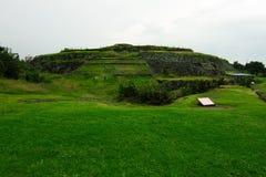 Pyramide circulaire de Cuicuilco images stock