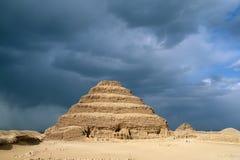 Pyramide d'étape, Egypte Images libres de droits