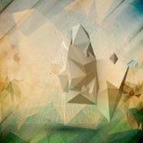 Pyramide 3d abstraite Calibre pour des affaires ou Image stock