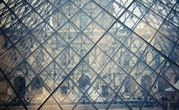 Pyramide d'auvent Photographie stock