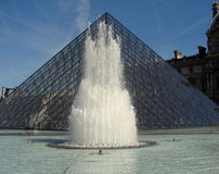Pyramide d'auvent Photographie stock