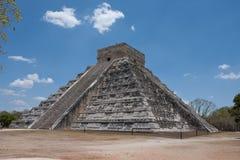 Pyramide d'itza de Chichen Photo libre de droits