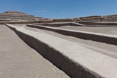 Pyramide de Cauachi photographie stock