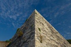 Pyramide de Cestius Images libres de droits