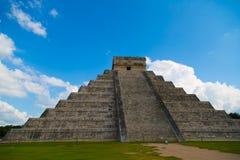 Pyramide de ¡ de Chichén Itzà Photos stock