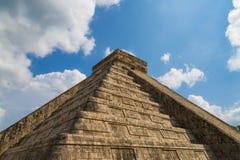 Pyramide de ¡ de Chichén Itzà Image libre de droits