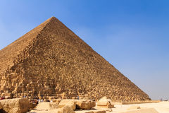Pyramide de Gizeh, le Caire en Egypte Photo stock