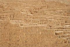 Pyramide de Huaca Pucllana photos libres de droits