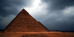 Pyramide de Khufla Images libres de droits