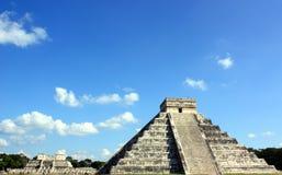 Pyramide de Kukulkan Photos libres de droits