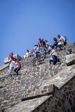 Pyramide de la lune Teotihuacan, Mexico, Mexique image stock