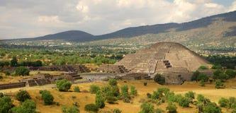 Pyramide de lune de Teotihuacan Photo libre de droits