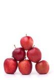 Pyramide de pommes Photos libres de droits
