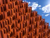 Pyramide de puzzle Photographie stock