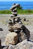 Pyramide de roche Photographie stock