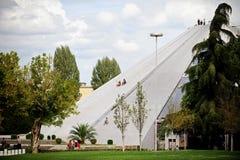 Pyramide de Tirana Image stock
