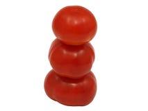 Pyramide de tomates. Image stock